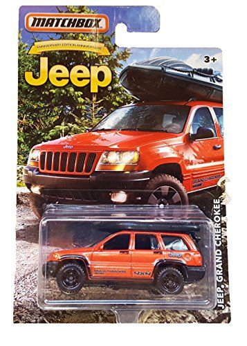 MATCHBOX LIMITED EDITION JEEP ANNIVERSARY EDITION ORANGE ...