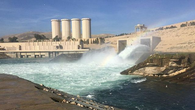 02/28/2016 - In anticipation of the collapse of the Mosul Dam .. Abadi government calls for the evacuation of the housing adjacent to the Tigris River