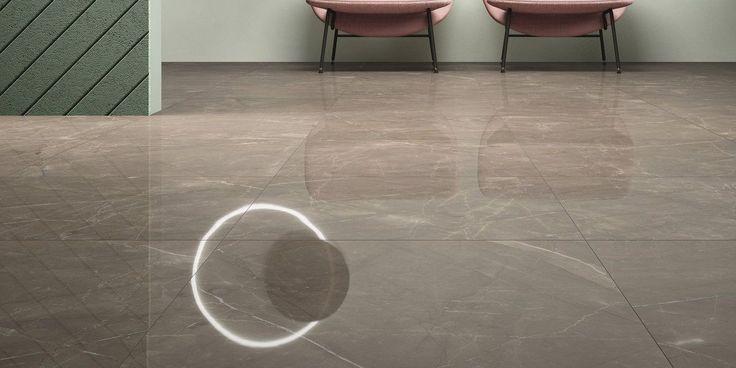 marble lab's noble ecru marble design, premium porcelain tile. 12x24, 24x24, 24x48