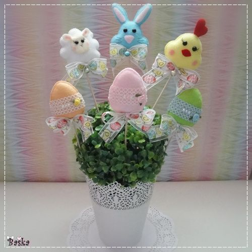 Filcowe dekoracje na Wielkanoc!