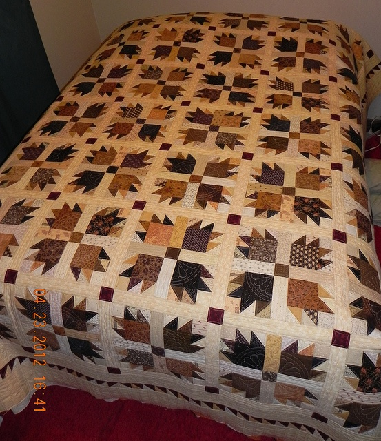Paw prints - my favorite quilt pattern. One day  I hope to make this.