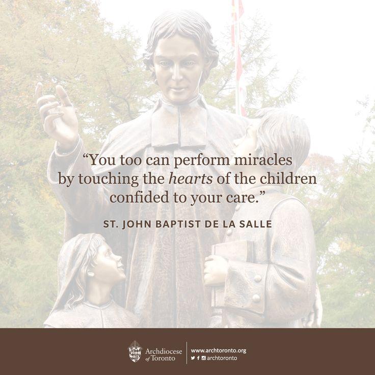 Bible Quotes About St John The Baptist: 12 Best San Juan Bautista De La Salle Images On Pinterest