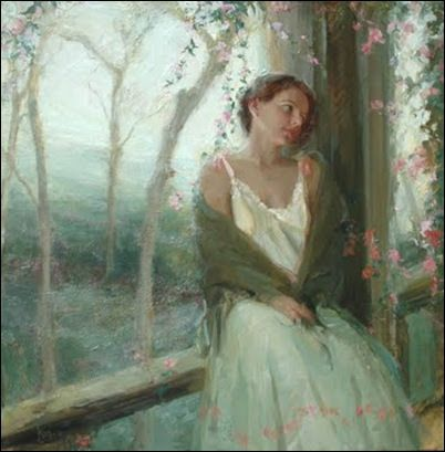 Another wonderful painting by      Johanna Harmon