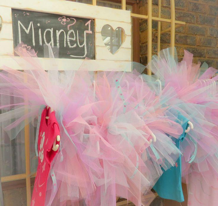 Mianey 1st Birthday #diyparty #tutu #vinyl #silhouette #1stbirthday #kidsparty #springideas #candyfloss #girlsshirts