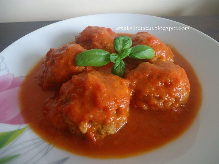 Smak Słodyczy: klopsiki /pulpety w sosie pomidorowym