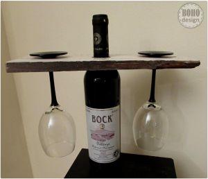 Két személyes bortartó www.BOHOdesign.hu