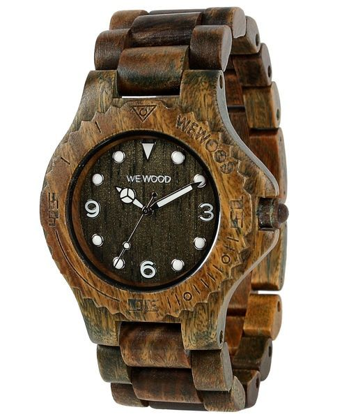 WeWood watch DATE ALUDRA ARMY ltd edition