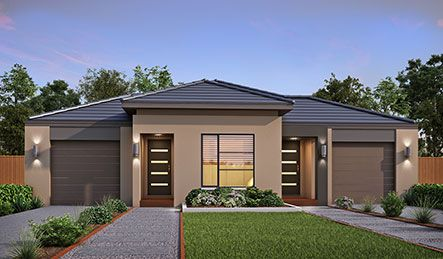 Our Render Belle Facade. Visit our website for more information on our range of options for your new home.