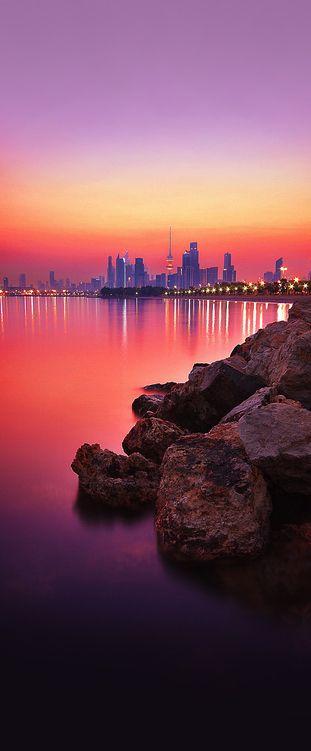 Sunset, Kuwait City, Kuwait