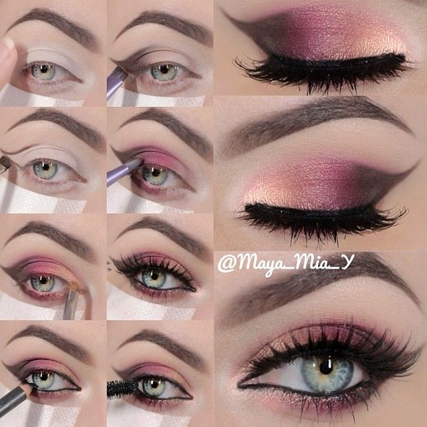 Makeup tutorial ... can totally see this with Younique Mineral pigments in sexy, sassy and daring!!!! So pretty!!! www.youniqueproducts.com/tanyacastilleja