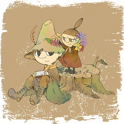 Snufkin and Little My