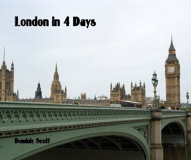 London in 4 Days | Book Preview
