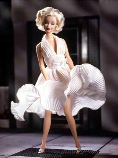 Marilyn Monroe collectible BARBIE DOLL