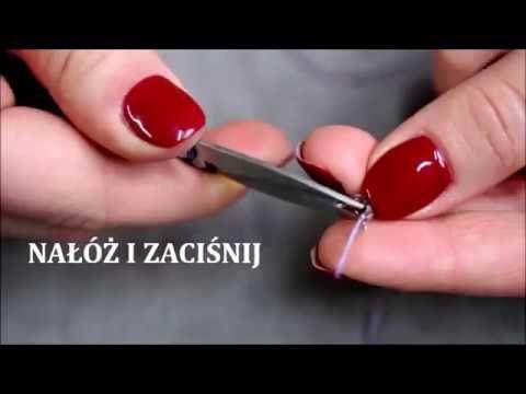 Poradnik - szybki tutorial jak wykończyć biżuterię czyli jak korzystać z łapaczek? quick tutorial on how to finish jewelry. how to use clasp ?