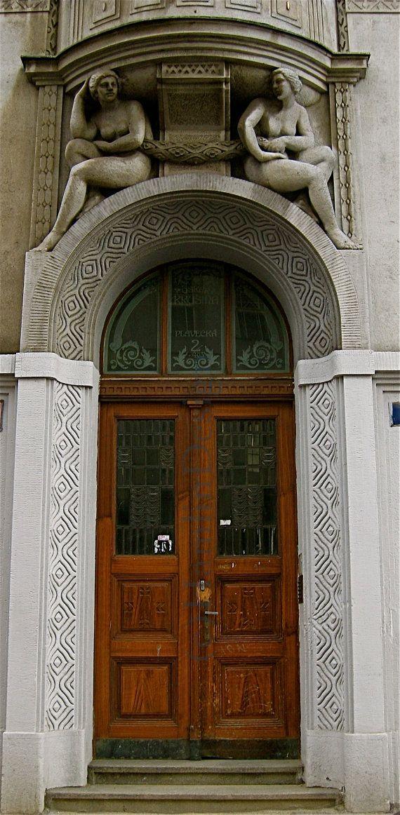 1000 images about prague doors dve e v praze on pinterest for Door z prague