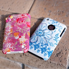 decopatch your old phone cover - why not?