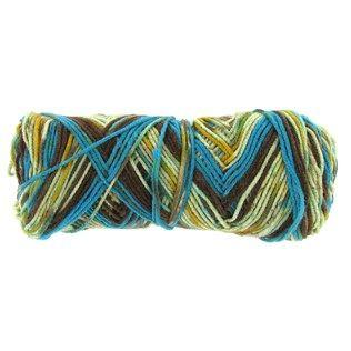 Riverbank I Love This Yarn Flower Print Yarn | Shop Hobby Lobby #ilovethisyarn #mediumweightyarn