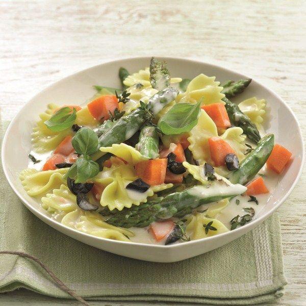 Vegetarische groentepasta #vega #WeightWatchers #WWrecept