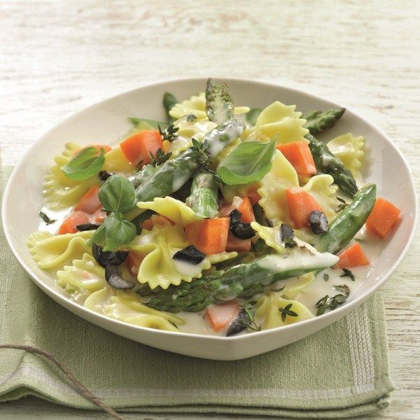 Vegetarische groentepasta #vega #WeightWatchers #WWrecept