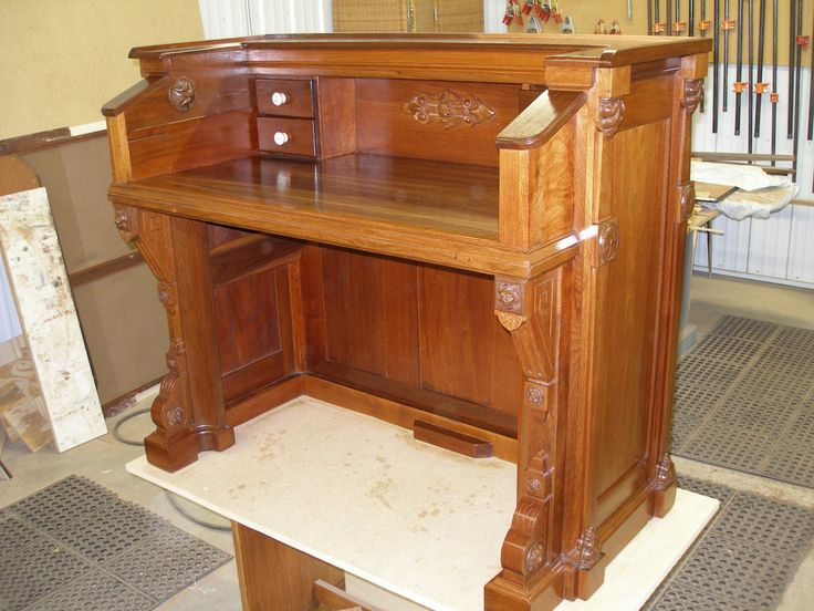 Piano... Upcycled... 1871 Estey Reed Pump Organ Writing Desk..UNIQUE - 70 Best What Should I Do With My Old Piano Images On Pinterest