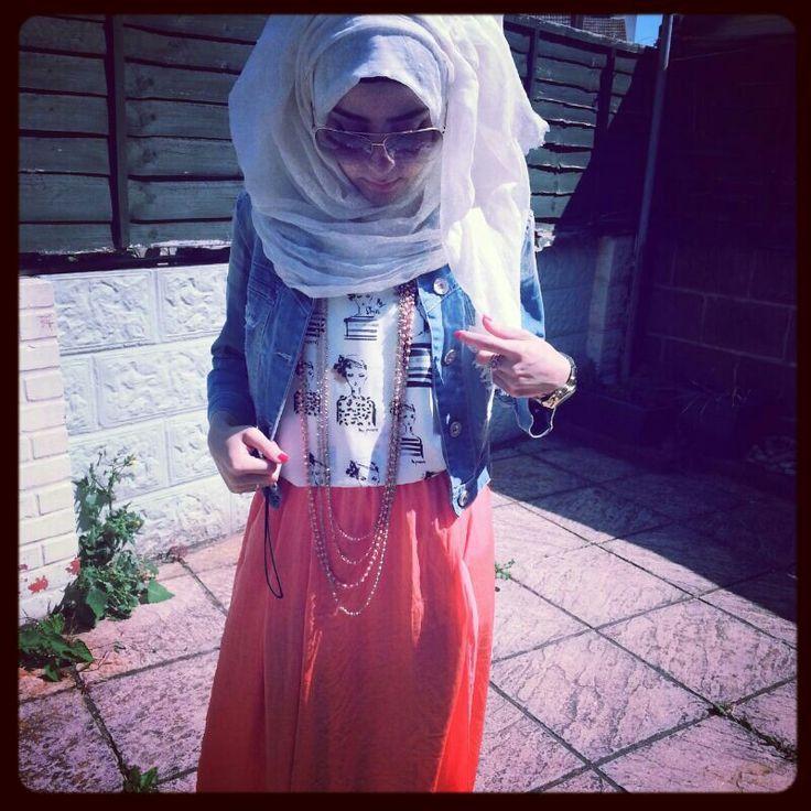 Hijab Ootd Casual Modest Hijab Fashion