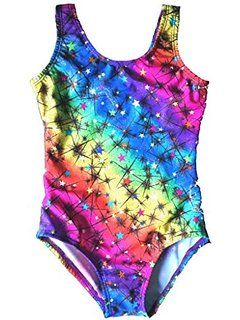 little girls gymnastics leotards cute rainbow - Google Search