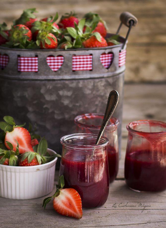 La Cucharina Mágica: Mermelada de fresa