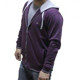 UC Purple Cotton Hoodie H-003