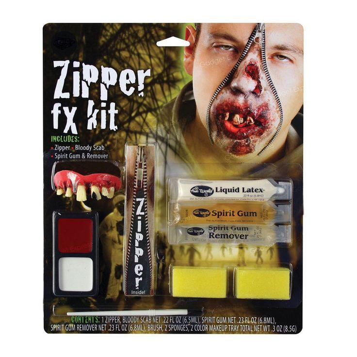 fancydressvip - Makeup Zombie Zipper Kit Halloween Accessory, £10.99 (http://www.fancydressvip.com/halloween/halloween-accessories/makeup-zombie-zipper-kit-halloween-accessory/)