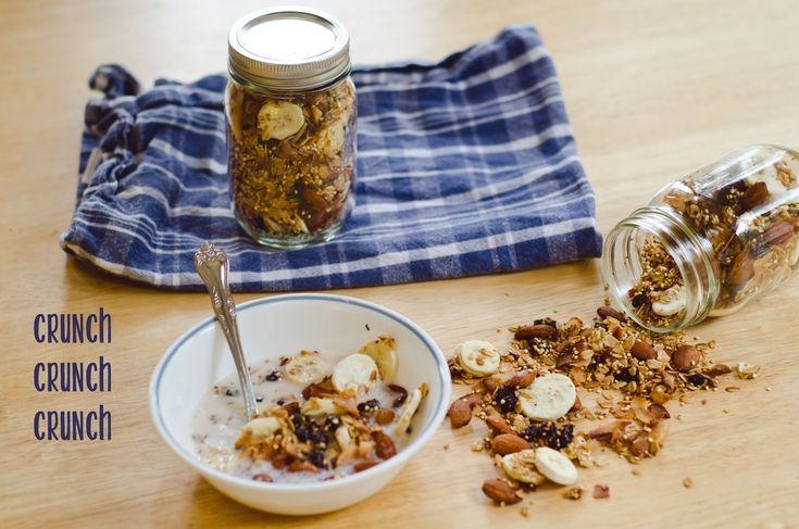 Banana Nut Granola With Quinoa | Recipe | Banana Nut, Granola and ...