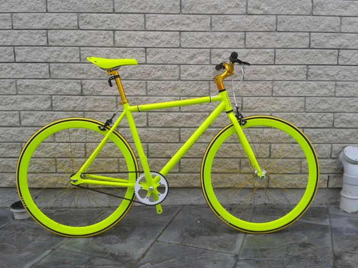 FIXIE NZ Lime Fire Yellow