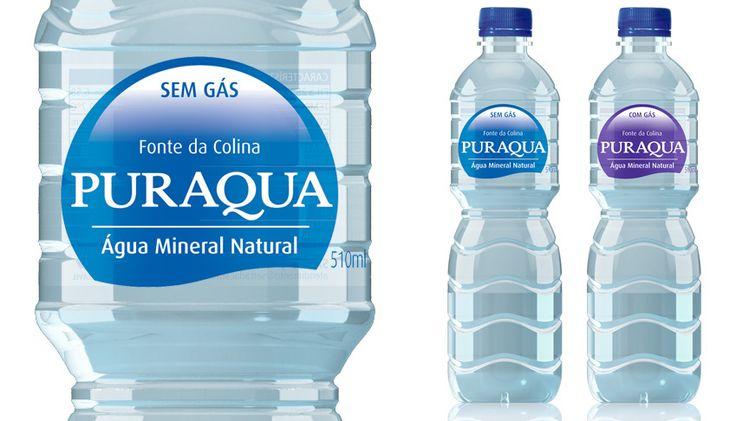 Criamos a imagem da marca deste produto e os rótulos para as garrafas e copos com e sem gás. O conceito empregado utilizou o máximo de transparência e simplicidade para facilitar a lembrança e o reconhecimento dos produtos.