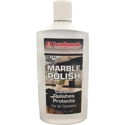 Lundmark Wax 10Oz Marble Polish 3215F10 Unit: Each, Grey smoke