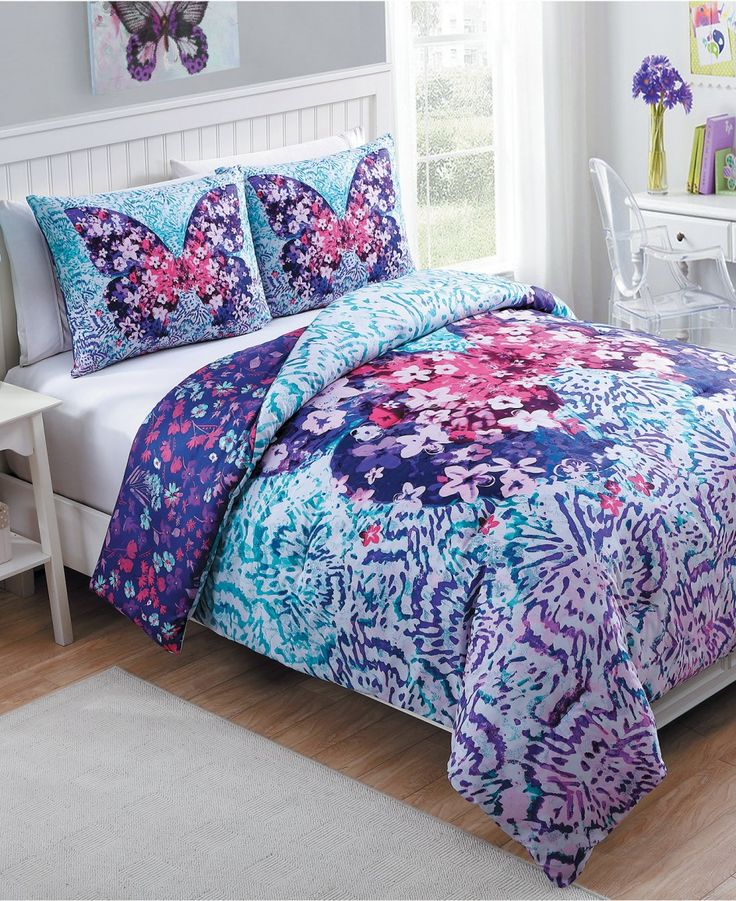 Bedding, Fly Free Comforter Sets Target Bedding Boho Reversible Design Allover…