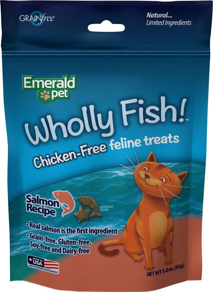 Wholly Fish Chicken Free Cat Treats In 2020 Cat Treats Raw Pet Food Natural Pet Food