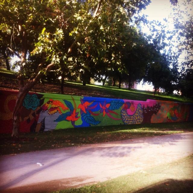 Benetton Fence @ Parque Araucano