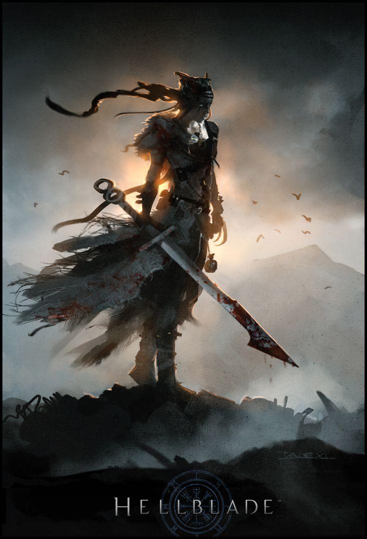 Hellblade | Senua Mood #barbarian #fighter