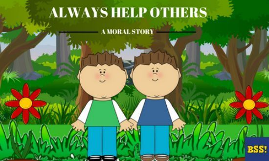story of helping others | Stories for kids | Stories for kids, Moral