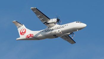 Japanese airline, Japan Air Commuter Co. Ltd. (JAC) completed its first ATR 42-600 flight. JAC's flight 3741 departed from Kagoshima at 8:50 am (local time) for a 40-minute flight to Yakushima.