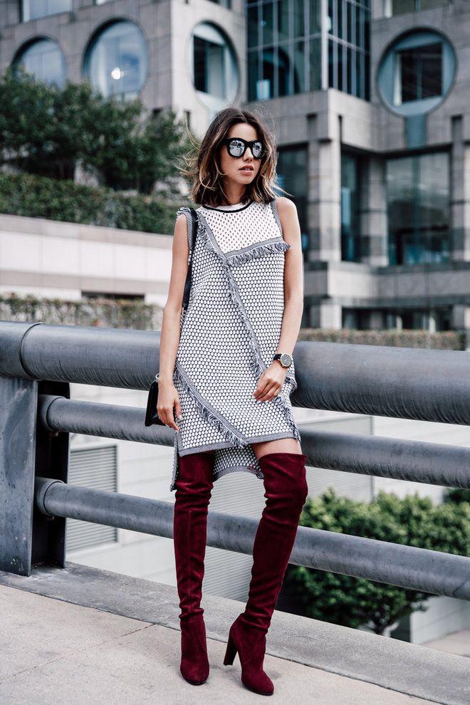 Сапоги на каблуке (80 фото): женские летние и осенние, белые и бежевые, с чем носить красивые длинные сапоги