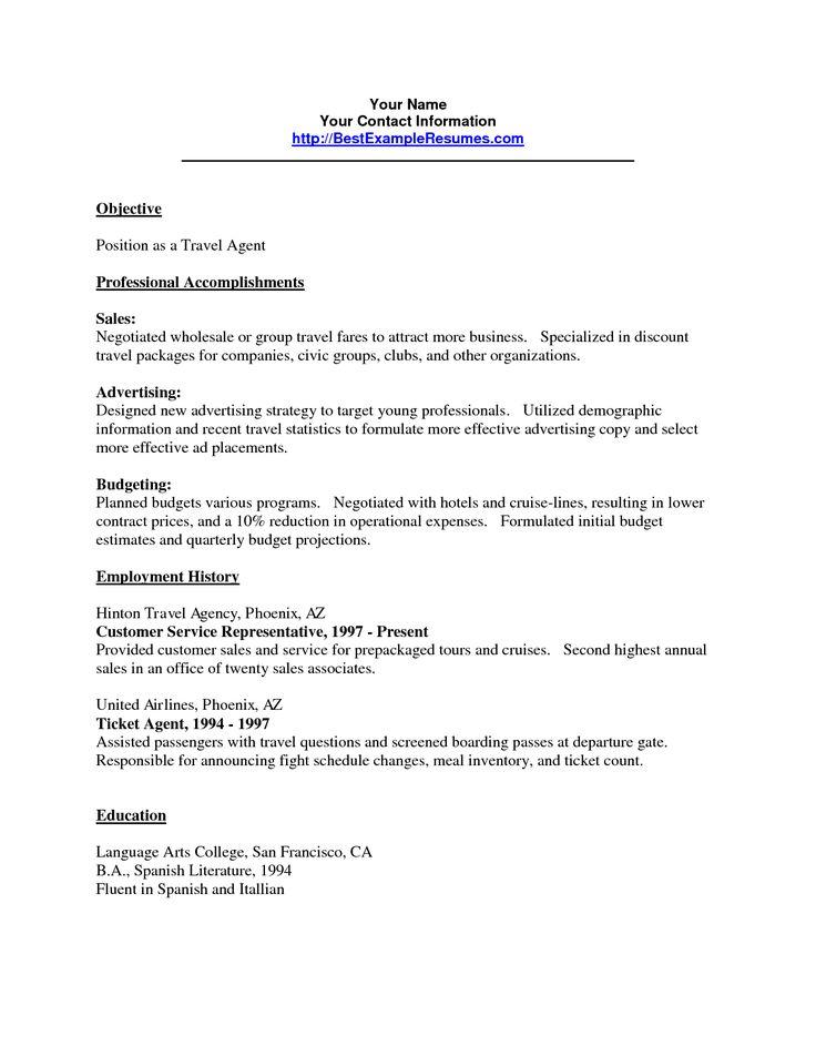 Best 25+ Customer service resume ideas on Pinterest | Customer ...
