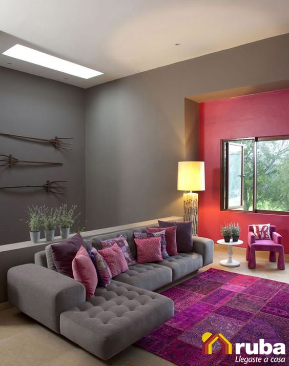 24 best images about decosalas on pinterest colors the for Colores para sala