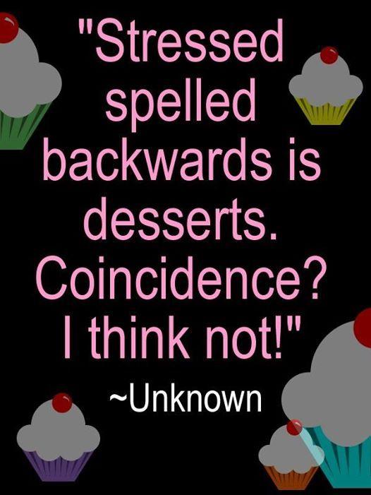 Alas! Stress baking