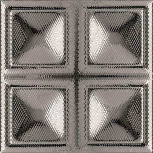 Dec. Cubos Plata 20x20