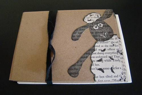 Such a cute Shawn the sheep card, love the newspaper use within the card.
