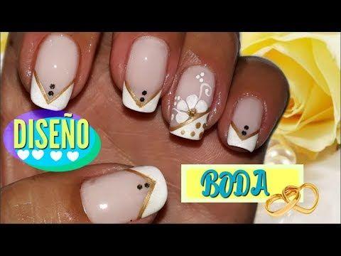 ♥Decoración de uñas Mariposa con animal print♥/Nail decoration Butterfly with animal print - YouTube
