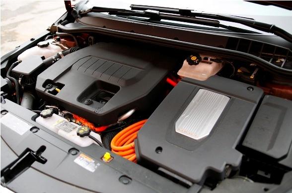 2012 Chevrolet Volt Power of Chevy Volt for EPA-estimated 35 miles