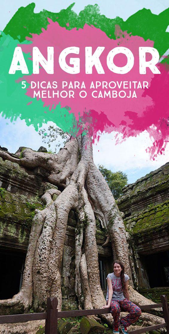 Tá indo pro sudeste asiático? Não deixe de passar uns dias por Siem Reap para conhecer o maior e mais importante complexo arqueológico do Camboja!  Veja as dicas para aproveitar melhor o Angkor!