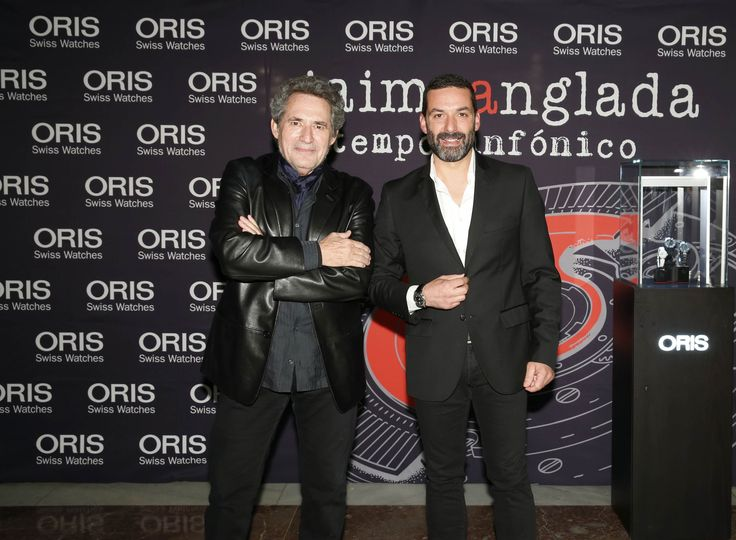 Miguel Rios y Jaime Anglada en Oris & Jaime Anglada en Temposinfonico