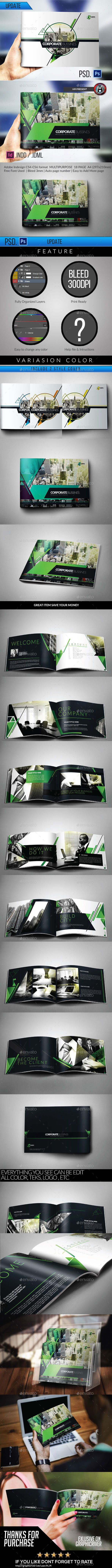 Multipurpose Modern Corporate Geometris Brochure